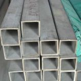 TP304/316L Edelstahl-Quadrat-nahtloses Gefäß