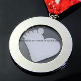 Lucency acrílico de metal personalizados especiales de la medalla de correr