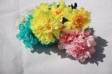 Preiswerter Silk künstliche Blumengefälschter Hydrangea für Haupthochzeits-Dekoration