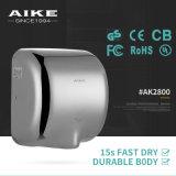 Secador eficiente elevado médico de alumínio da mão, secador AK2800L da mão do estilo de Excel