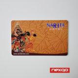 Cmyk 싼 색깔 최신 우표 (금 또는 은 또는 빨강) PVC 플라스틱 카드