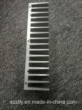Het aangepaste Aluminium van 6063 Legering/Aluminium Uitgedreven Finned Heatsink