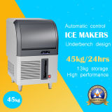 38kg de hielo comercial Maker con el diseño de acero inoxidable