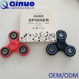 Handspinner-scherzt Tri Unruhe-Finger-Fingerspitze-Kreiselkompass-Stahlkugel-Schreibtisch-Spielzeug EDC Erwachsenen