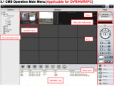 Canal 32 H. 264 Standalone NVR Gravador de Rede Digital