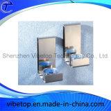 Decoração para casa moderna Titular de castiçal de aço inoxidável