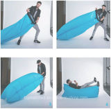 Sofa paresseux campant d'air gonflable de course extérieure