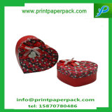 Embalaje de impresión San Valentín de forma de corazón regalo de embalaje Caja de chocolate de papel Caja de almacenamiento