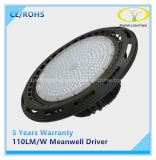 Ce RoHS enumerados LED 200W luz Meanwell industriales con conductor