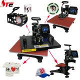 Многофункциональная комбинированная машина 8 давления жары в 1 машине Stc-SD08 передачи тепла машины давления жары тенниски многофункциональной комбинированной