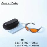 Стекла глаза лазера предохранения от лазера Eyewear предохранения от безопасности лазера утверждения Ce для лазера Q-Switched YAG ND YAG: машина ND YAG Q-Переключателя 532/1064nm