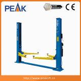Sollevatore automatico idraulico a due poste con tipo di piastra