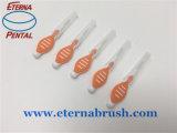 Nylon personalizada palillo de dientes cepillo para limpiar los dientes adultos