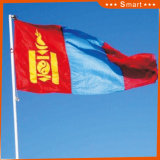 カスタムSunproofの国旗のモンゴルの国旗防水すれば