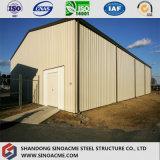 Atelier préfabriqué africain/entrepôt de structure métallique de qualité