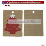 クリスマスツリーの装飾のペーパーラベルの札によって印刷されるラベル(P4147)