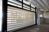 Transparente Rolle Shutters gewundene Portalsicherheit Belüftung-Walzen-Blendenverschluss-Türen (Hz-RSD028)