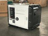 El generador diesel silencioso 6.5kVA todo reviste precio directo de la fábrica con cobre diesel del generador