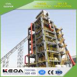 気化システム-石炭のガス化装置引きず流れる
