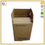 Коробка изготовленный на заказ гофрированной бумага упаковывая
