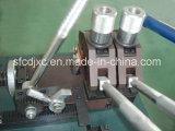Máquinas e aparelhos para soldar topo a topo de fio máquina colchão