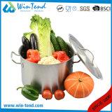03 Style Acero Inoxidable equipos de cocina de inducción de Vaporizador Stock bote con fondo Sandwich