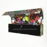 Joyería del papel / reloj / de la pluma caja de regalo con bandeja interna terciopelo