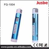 Microfone de condensador sem fio do estúdio portátil de Fg-1004 2.4G para ensinar