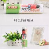 Film PE biodégradable, s'accrochent le film en plastique, plastique sur le rouleau à film chaud