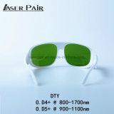 Lasersicherheits-Gläser für 800-1700nm, Lasersicherheit Eyewear, preiswerter Sicherheitsglas-Laser schützendes Eyewear für Diode 980nm der Laserdiode-808, 1064nm, Diode 1320nm