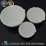Piatto della ceramica del quarzo del silicone fuso per i metalli di fusione
