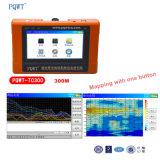 Automatische Karte Pqwt-Tc300 mit einem Tasten-beweglichen Grundwasser-Detektor
