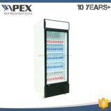 전시 냉각기 유형과 단 하나 온도 작풍 전자 보온장치 광고 방송 냉장고