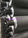 Tubo con las aletas de aluminio sacadas, tubo aletado del acero de carbón de la alta calidad