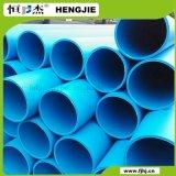 Grande de 10 polegadas de diâmetro do tubo de HDPE