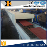 Kxd Stone Coated Metal Roofing Tile Making Machine avec poinçonnage