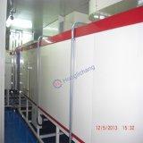 Línea de pintura automática ULTRAVIOLETA de los armas de aerosol para las piezas plásticas