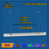 20W 5 anos de garantia IP65 Waterproof LED Tri-Proof Light