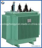Postes neufs de transformateur triphasé de distribution d'énergie