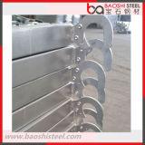 Q235 Échafaudage des échafaudages en métal / Panneau d'échafaudage avec crochets