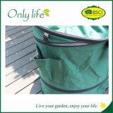 Onlylifeのプラスチック底が付いているポップアップ庭袋