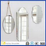 2mm-8mm Floatglas Frameless Edgeworked Badezimmer-Wand-Spiegel für Hotel-Zubehör