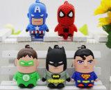 Dibujos animados de OEM Disco USB Flash Drive USB Stick para promoción