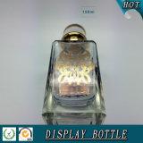 150ml Fancy Display Garrafa de ouro com tampa de cristal para perfume a granel
