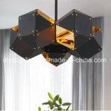 Lámparas minimalistas contemporáneas del diseño de la DNA de la lámpara pendiente de la decoración del chalet