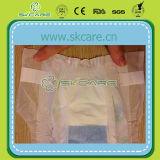Doux Tissu-Comme la couche-culotte de bébé de l'usine d'OEM de la Chine
