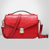 Der Sprung-Ansammlungs-Beutel Emg4911 modisches Handtaschen-Krokodil-Muster-reale lederne Beutel-Verkaufsschlager-Dame-Schulter