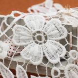 Дешевые поставщики шнурка платья венчания Дубай ткани шнурка вышивки