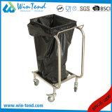 Chariot de Refuser-Sac à ordures de compensation de nettoyage de modèle d'usine