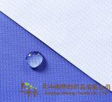Polyester 300t pongés JACQUARD Tissu en microfibre imperméable respirante revêtement PU laiteuse